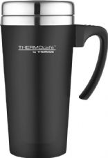 Thermos Soft Touch Travel Mug Black - 420ml